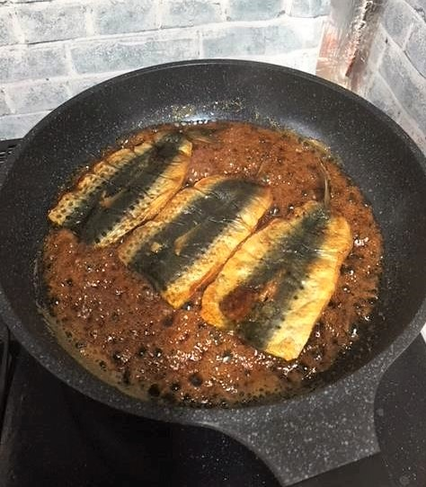 鰯の蒲焼き丼